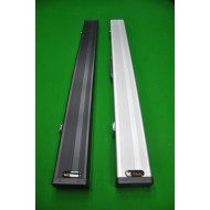1pc Black Alum 2 set Cue Case
