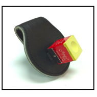 Leather Magnetic Square Chalk Holder
