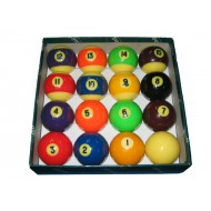 "2.14"" Aramith Fluorescent Pool Ball Set"