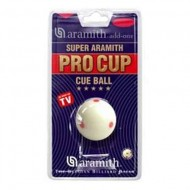 "2.1/4"" Super Pro Cup 6 Red Dots Cue Ball"