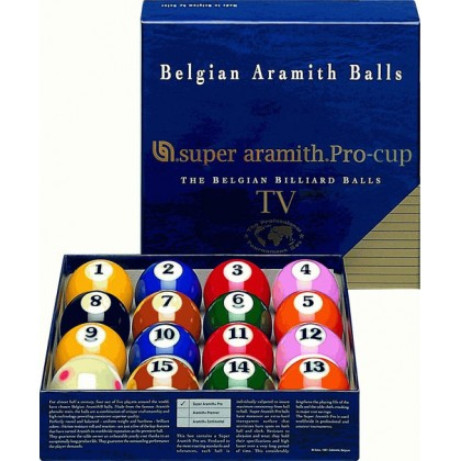 "2.1/4"" Super Aramith Pro Cup  TV  Pool Ball"