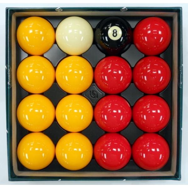 Casino pool ball set