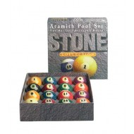 "2.1/4"" Aramith Stone Granite Pool Ball Set"