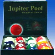 "2.1/16"" Jupiter Pool Ball Set"