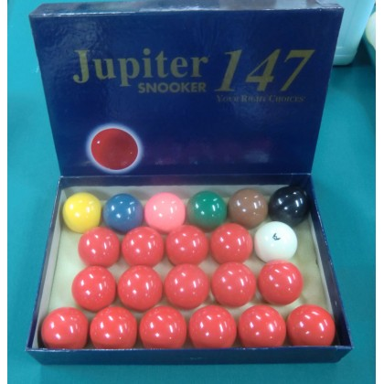 "2.1/16"" Jupiter Snooker Ball Set"
