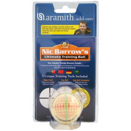 "2.1/16"" Nic  Barrow Ultimate Training Ball"