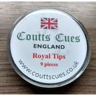 10.5mm Dave Coutts UK Cue tip