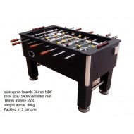 "55"" Wooden Table Soccer"