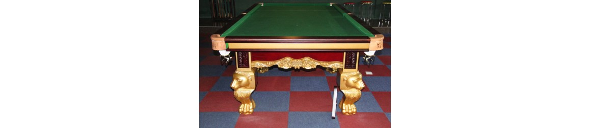 Warier Chinese 8 Ball Table New (Gold Royal)